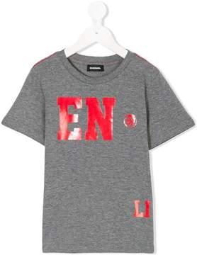 Diesel Enjoy Life print T-shirt