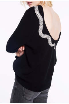 BA&SH Ofraa Snake Sweater