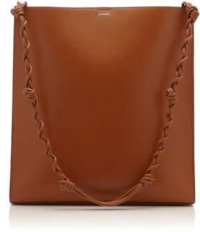 Jil Sander Tangle Large Leather Bag
