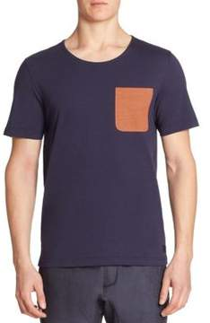 Madison Supply Contrast Pocket Tee