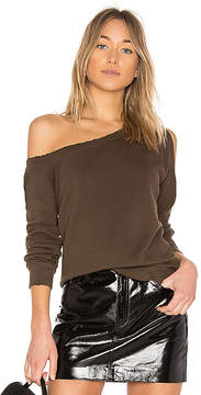RtA Willow One Shoulder Sweatshirt