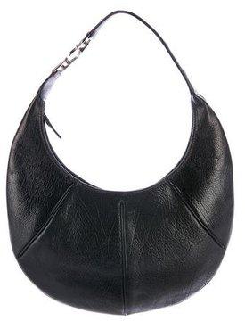 Salvatore Ferragamo Leather-Trimmed Hobo