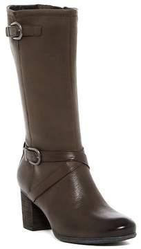 Josef Seibel Britney Buckled Leather Mid Boot