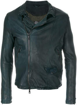 Giorgio Brato textured zipped jacket