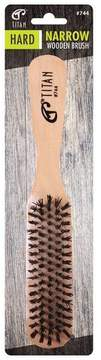 TITAN Narrow Wooden Hair Brush