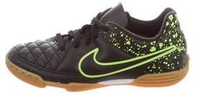 Nike Boys' Tiempo II Soccer Sneakers