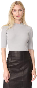 Dion Lee Pinacle Rib Cropped Tee