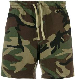 Faith Connexion camouflage print shorts