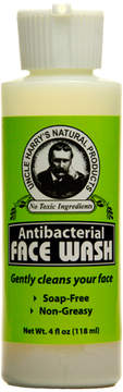 Smallflower Antibacterial Face Wash by Uncle Harry's Natural Products (4floz Cleanser)