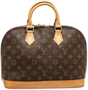 Louis Vuitton Alma leather satchel - MULTICOLOUR - STYLE