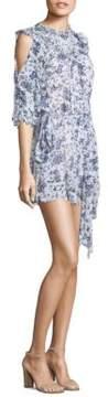 Alice McCall Diamond Dancer Pirouette Floral Cold-Shoulder Dress