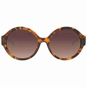 Michael Kors Seaside Getaway Brown Smoke Gradient Round Sunglasses
