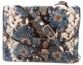 Dries Van Noten Embossed Leather Crossbody Bag