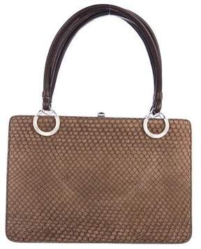 Loewe Snakeskin Frame Bag