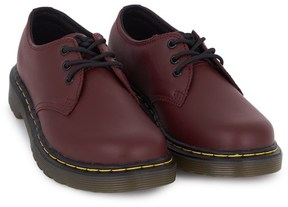 Dr. Martens Red Core Infant 3 Eye Shoes