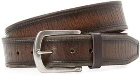 John Varvatos Men's Five Notch Leather Belt