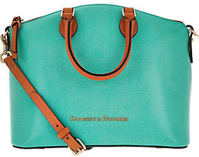 Dooney & Bourke As Is Siena Leather Domed Satchel - ONE COLOR - STYLE