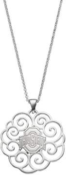 Dayna U Ohio State Buckeyes Sterling Silver Pendant Necklace