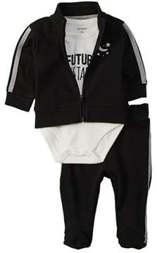 Petit Lem Baby Unisex 3pc Sweatshirt Set.