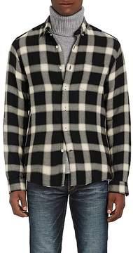 Ami Alexandre Mattiussi Men's Checked Twill Button-Down Shirt