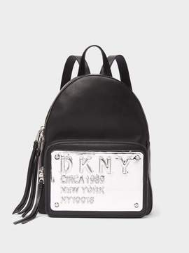 DKNY 10018 Leather Backpack