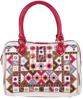 Women's Nicole Lee Ianeke Mirrored Boston Bag