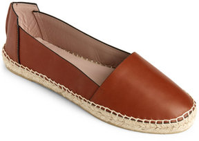 Aperlaï Leather Espadrille Flats