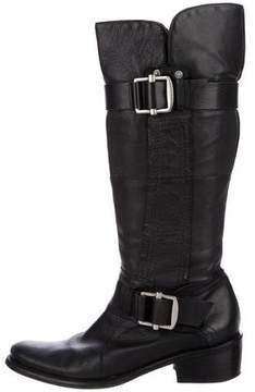 Bottega Veneta Knee-High Leather Boots