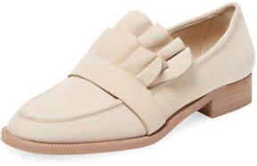 Pour La Victoire Women's Tenley Ruffle Loafer