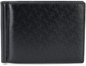 Salvatore Ferragamo textured double Gancio wallet