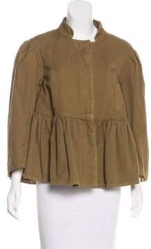 Dries Van Noten Linen-Blend Jacket