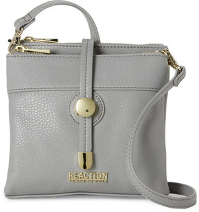 Kenneth Cole Reaction Grey Round About Mid Crossbody
