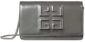 Givenchy Metallic Pandora Logo Wallet Bag