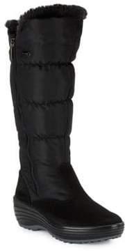 Pajar Amanda Faux Fur-Accented Mid-Calf Boots