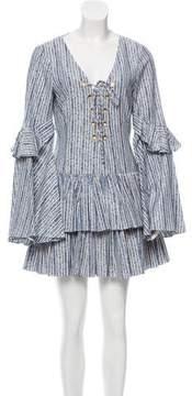 Caroline Constas Anastasia Jacquard Dress