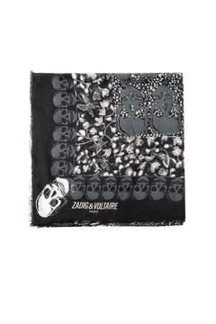 Zadig & Voltaire Kerry Garden scarf