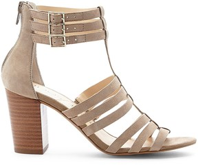 Sole Society Elise caged city sandal