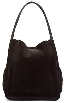 Proenza Schouler L Tote Suede Bag - Womens - Black