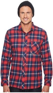 Rip Curl Teller Long Sleeve Flannel Men's Clothing