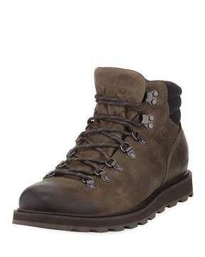 Sorel Madson Major Buffalo Waterproof Leather Hiker Boot
