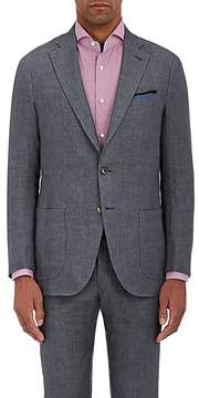 Isaia Men's Linen Two-Button Sportcoat