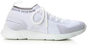 Christian Dior White Technical Knit Trainer