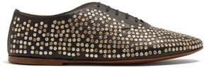 Saint Laurent Studded leather brogues