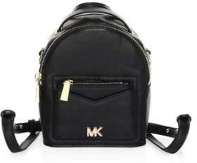 MICHAEL Michael Kors Convertible Leather Backpack
