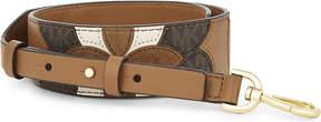 MICHAEL Michael Kors Patchwork leather bag strap - ACORN - STYLE