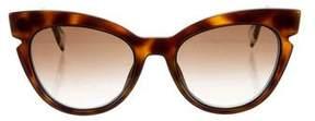 Fendi Tortoiseshell Cat-Eye Sunglasses