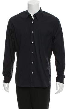 James Perse Woven Button-Up Shirt