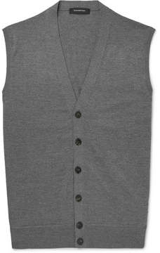 Ermenegildo Zegna Wool And Cashmere-Blend Vest
