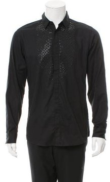 Just Cavalli Embellished Button-Up Shirt