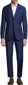 J. Lindeberg Men's Donnie Solid Notch Lapel Suit
